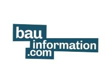 bauinfromation.com Logo of the Webplatform Bauinformation