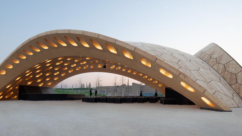 BUGA Wood Pavilion 2019