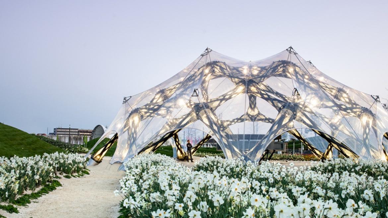 BUGA Fibre Pavilion 2019